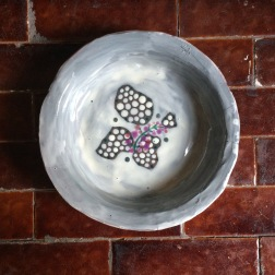 bowl with lilac